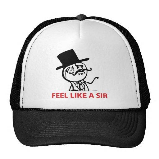 Feel Like a Sir Hats