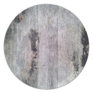 Feel Like Nature Wood pattern Plate