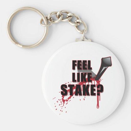 Feel Like STAKE? Key Chain
