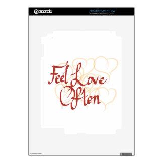 Feel Love Often iPad 2 Skin