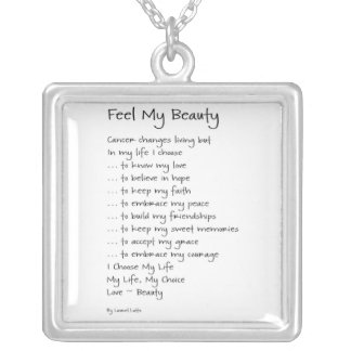 Feel My Beauty Cancer Necklace Jewelry