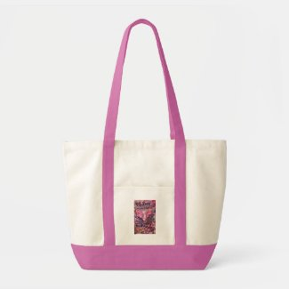 Feel My Beauty Pink Cancer Angel Tote Bag