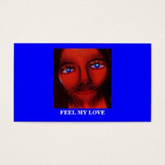 FEEL MY LOVE BUSINESS CARD