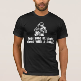 Feel Safe at Night Sleep with a Boxer T-Shirt