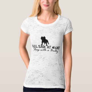Feel Safe At Night, Sleep With A Bully Vintage w/ T-Shirt