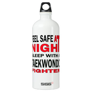 Feel safe at night sleep with a Taekwondo fighter SIGG Traveler 1.0L Water Bottle