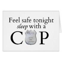 Feel safe tonight! card