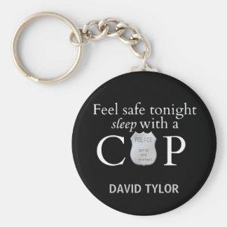 Feel safe tonight! keychain