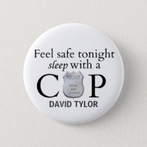 Feel safe tonight! pinback button