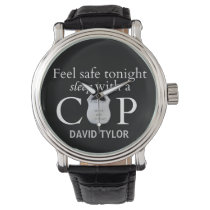 Feel safe tonight! wristwatch
