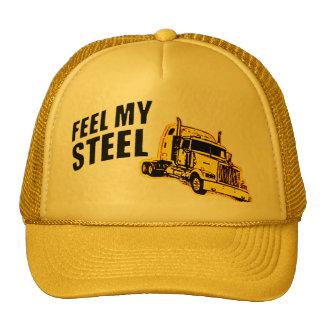 feel steel trucker hat