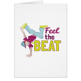 Feel The Beat Card