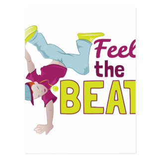 Feel The Beat Postcard