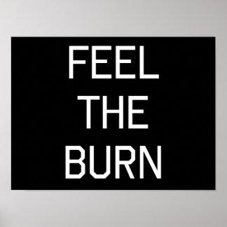 Feel The Burn Posters
