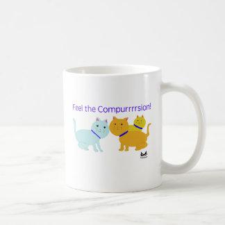 Feel the Compurrrsion Coffee Mug
