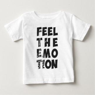 feel the emotion 1 infant t-shirt