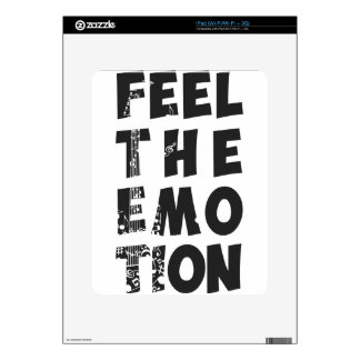 feel the emotion 1 skins for iPad