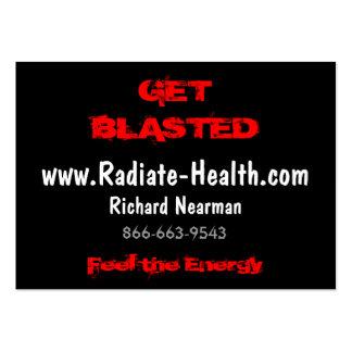 Feel the Energy, www.Radiate-Health.com, Richar... Business Cards