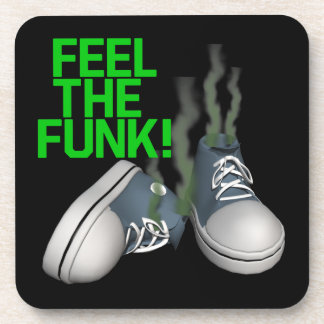 Feel The Funk Drink Coasters