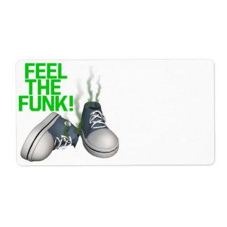 Feel The Funk Custom Shipping Labels