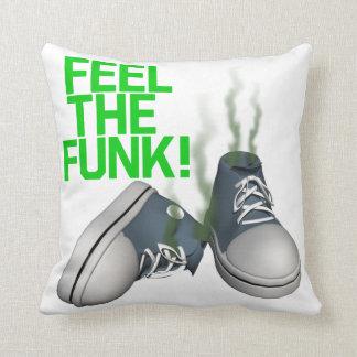 Feel The Funk Throw Pillows