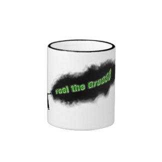 feel the grease ringer mug
