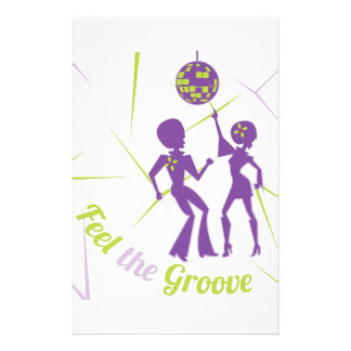 Feel The Groove Stationery