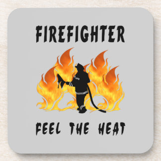 Feel The Heat Beverage Coaster