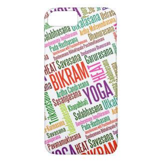 Feel the Heat Bikram Yoga Practioner's Asanas iPhone 7 Case