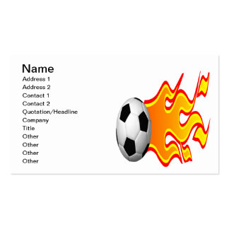 Feel The Heat Double-Sided Standard Business Cards (Pack Of 100)