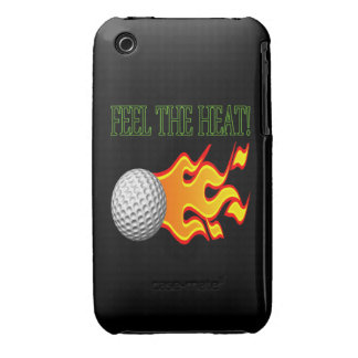Feel The Heat Case-Mate iPhone 3 Case