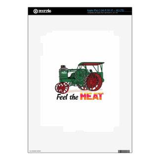 Feel the Heat Decal For iPad 3
