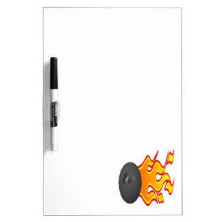 Feel The Heat Dry Erase Whiteboard