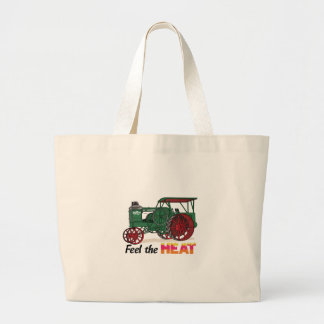 Feel the Heat Large Tote Bag