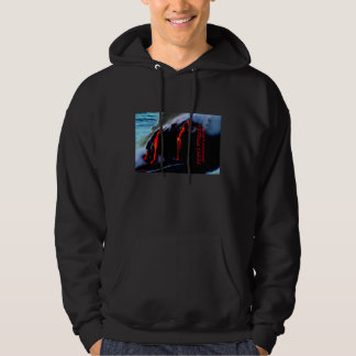 FEEL THE HEAT LAVA JUNKIE CLOTHES AND GIFTS HOODIE