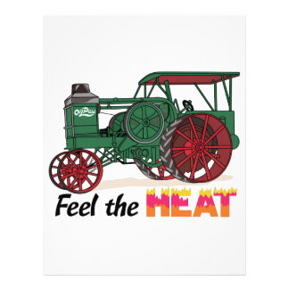 Feel the Heat Letterhead