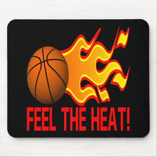 Feel The Heat Mouse Pad