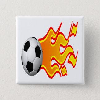 Feel The Heat Pinback Button