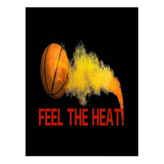 Feel The Heat Postcard