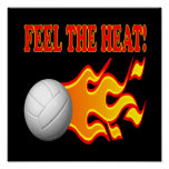 Feel The Heat Poster