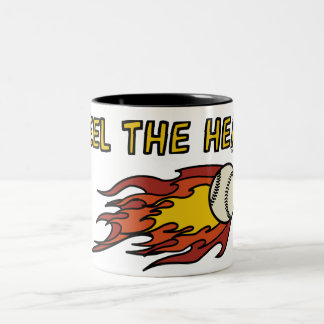 FEEL THE HEAT - SPORTY SLANG - Baseball Mug