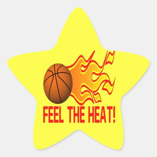 Feel The Heat Star Sticker