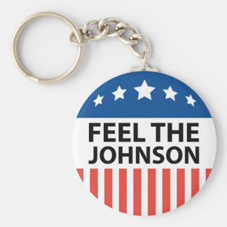 Feel The Johnson Keychain