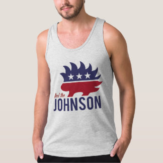 Feel the Johnson - Libertarian Porcupine - -  Tank Top