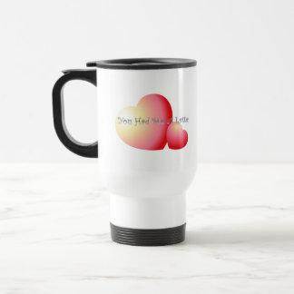 Feel the love 15 oz stainless steel travel mug