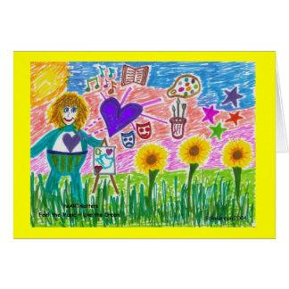 Feel the Magic ~ Live the Dream Greeting Card