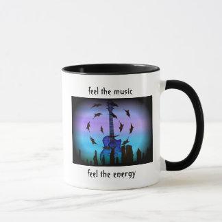Feel the music mug
