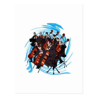 FEEL THE MUSIC POSTCARD