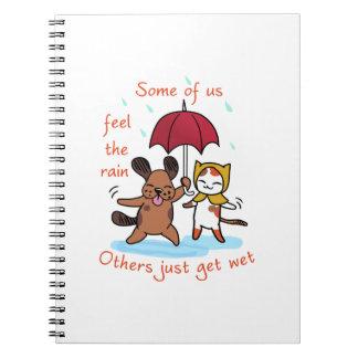 Feel the Rain Notebooks