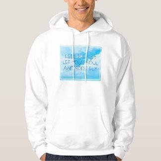 Feel the sky men 9 hoodie